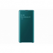 Чехол Samsung ClearView для Galaxy S10 (G973) EF-ZG973CGEGRU Green