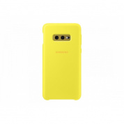 Чехол Samsung SiliconeCover для Galaxy S10e (G970) EF-PG970TYEGRU Yellow