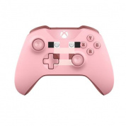Геймпад беспроводной Microsoft Xbox One Wireless Controller Minecraft Pig (WL3-00053)