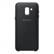 Чехол Samsung Dual Layer Cover для Galaxy J6 (J600) EF-PJ600CBEGRU Black
