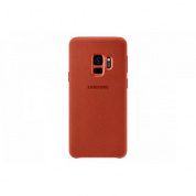 Чехол Samsung AlcantaraCover для Galaxy S9 (G960) EF-XG960AREGRU Red