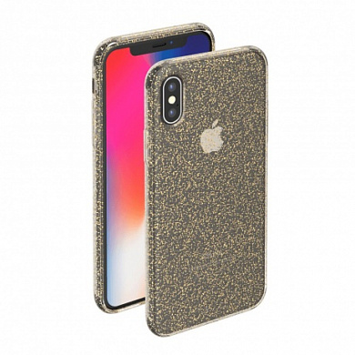 Чехол Deppa Chic Case для Apple iPhone X золотой
