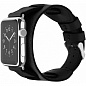 Ремешок Cozistyle Wide Leather Band for Apple Watch 42mm (CWLB10) Black