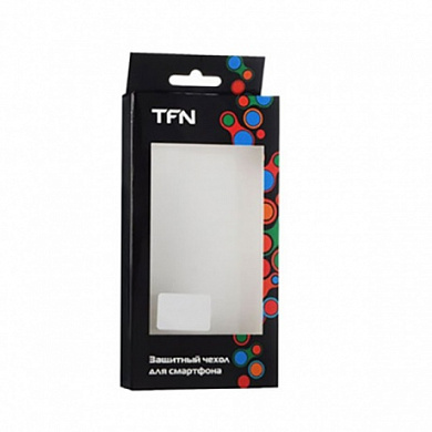 Чехол TFN iPhone 8/7 Rubber E10 black